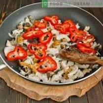 Паста с пиле и гъби - достъпни класики на италианската кухня