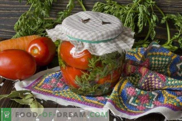 Pomodori marinati con carota Topper