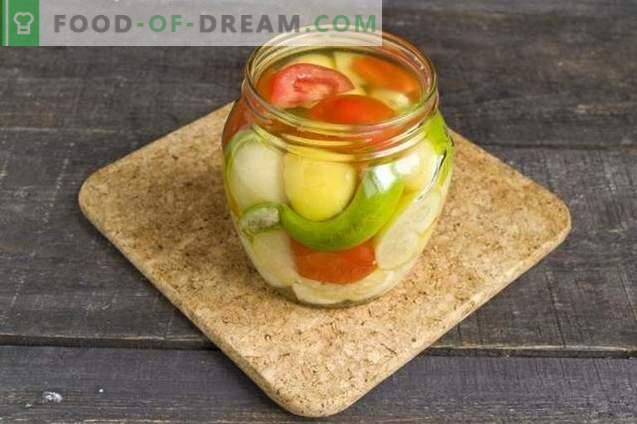 Зеленчукови блюда за зимата с физали, пипер и домати