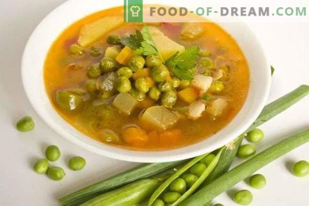 Супа от зелен грах