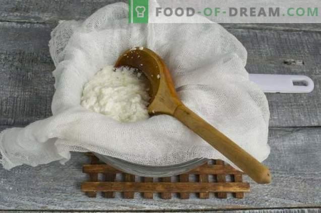 Домашно кефир и млечно сирене