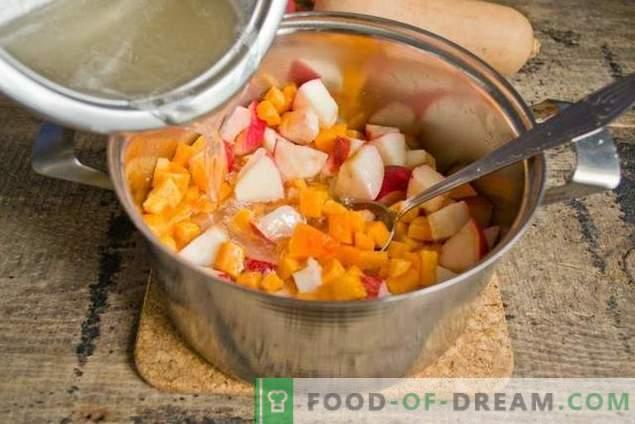 Ябълково сладко от тиква - сладък вкус на есента