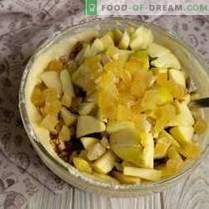 Muffins simples aux poires et noix