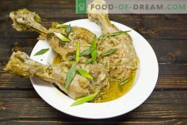 Curry mit Hühnchen und Kokosnuss