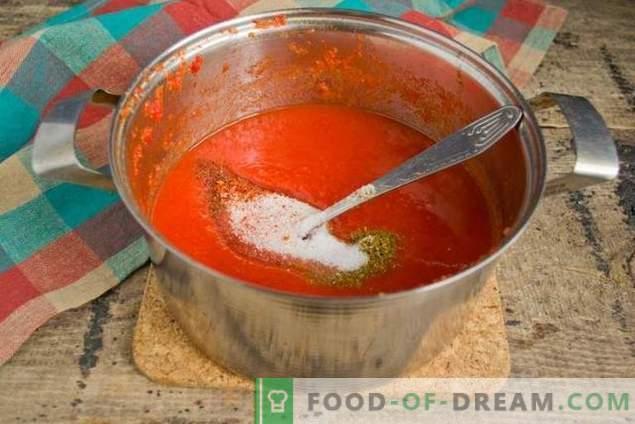 Salsa De Tomate Casera Para Un Kebab Incomparablemente Sabroso