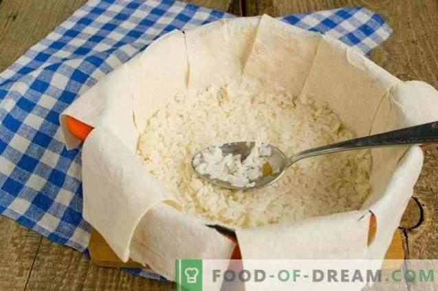 Шах-пилаф в пита хляб - консумация за празника