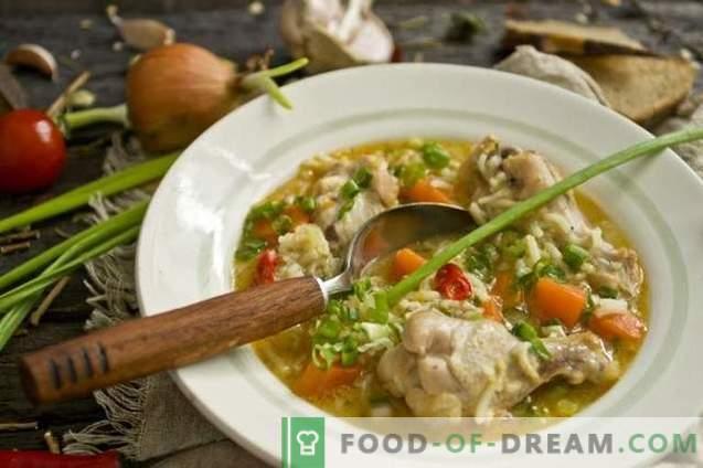 Супа от пилешки крилца