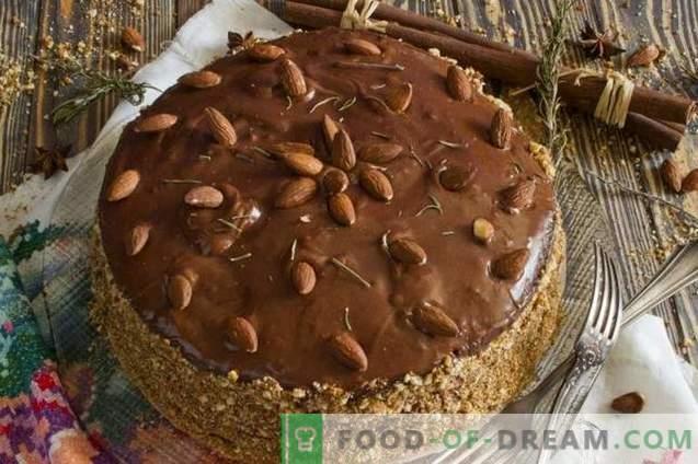 Домашна гъба торта с грис крем