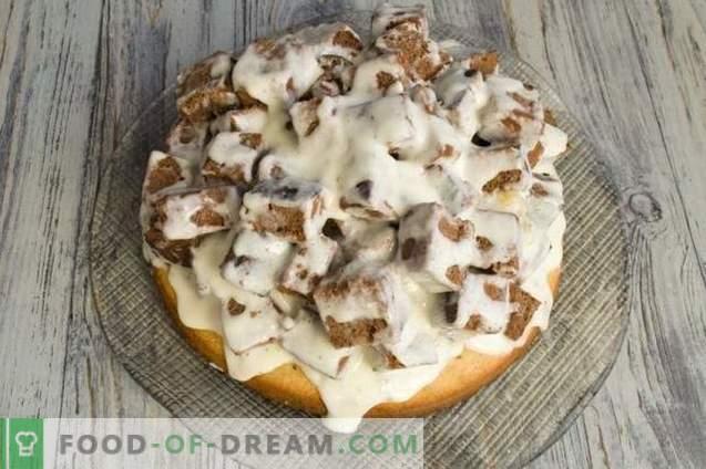 Бисквити с орехи и заквасена сметана