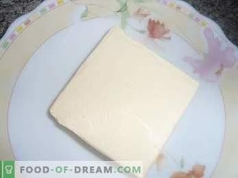 Как да приготвите торта Птиче мляко с грис, подробна рецепта.