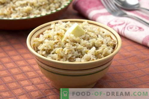 Barley porridge - the best recipes. How to cook barley porridge.