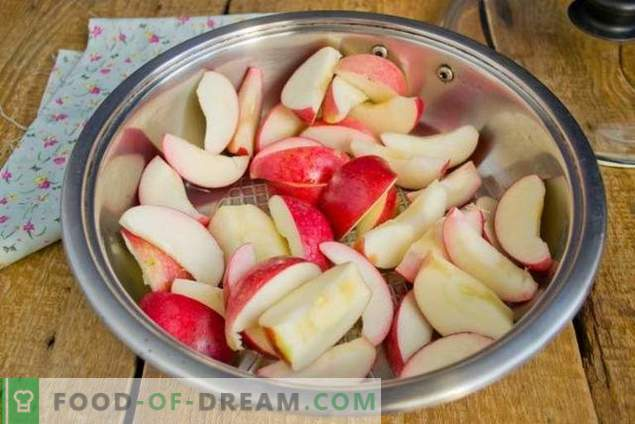 Ябълково сладко за зимата с банани и сливи