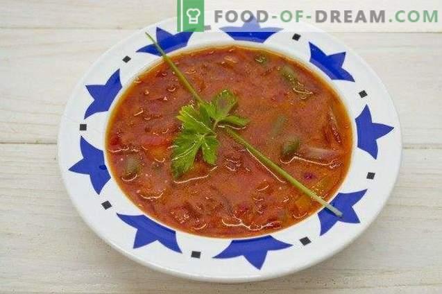 Вегетариански борш - супа от цвекло