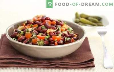 Cooking red beans from the classic recipe. Red bean lobio - classic recipes of Caucasian longevity