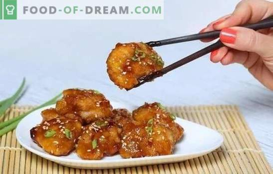 Пилето в медово-горчичния сос е златна птица! Рецепти за апетитни пилета в сос от мед-горчица, цели и на парчета