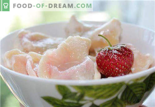 Empanadillas con fresas - las mejores recetas. Cómo cocinar de forma adecuada y sabrosa las albóndigas con fresas en casa.