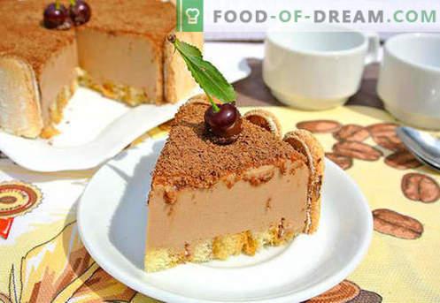 Суфле за торти - най-добрите рецепти. Как бързо и вкусно приготвя суфле.