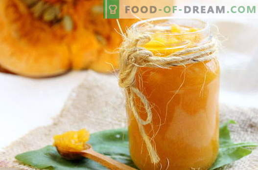 Pumpkin jam - the best recipes. How to properly and tasty cook pumpkin jam.