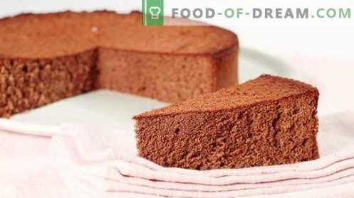 Masa de esponja - las mejores recetas. Cómo cocinar adecuadamente y sabrosa la masa de galletas.