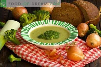 Brokkoli-Püreesuppe
