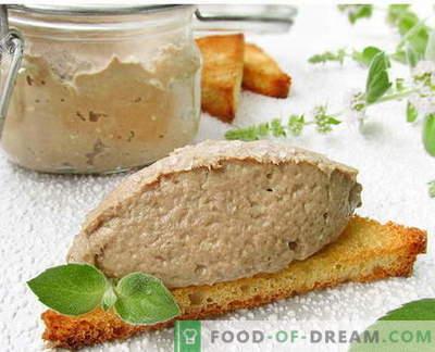 Paté de pescado - las mejores recetas. Cómo cocinar correctamente y sabroso el paté de pescado.
