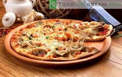 Comment cuisiner rapidement une pizza à la maison - recettes populaires. Secrets et astuces pour cuisiner rapidement une pizza à la maison