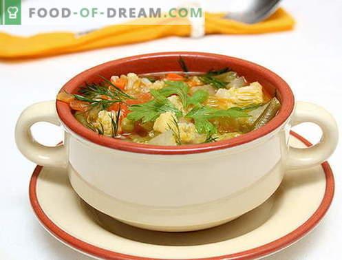 Пилешко кисели краставички - най-добрите рецепти. Как правилно и вкусно да се готви туршия с пилешко месо.