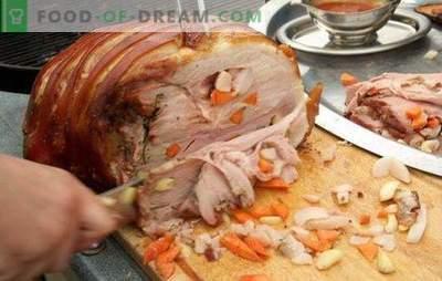 Kaj hitro kuhati svinjsko meso: namigi in triki. Izvirni in hitri recepti za kuhanje jedi svinjskega mesa