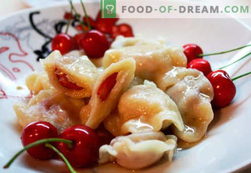 Черешките кнедли са най-добрите рецепти. Как правилно и вкусно да готвя кнедли с череши у дома.