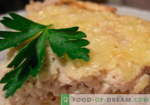 Говеждо суфле - най-добрите рецепти. Как бързо и вкусно да готвя суфле от говеждо месо.