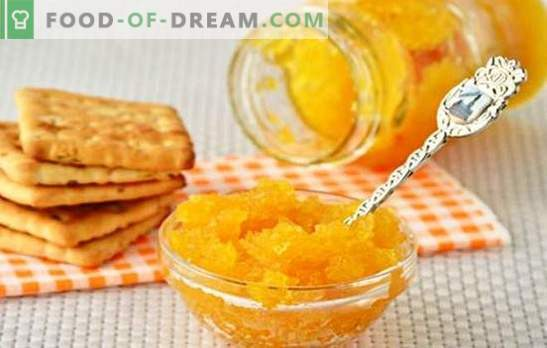 Сладко от тиквички с портокали е оригинален деликатес. Селекция от най-добрите рецепти от тиквички с портокали