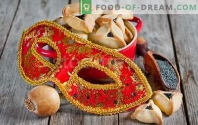 """""""Amans Ohren"""" ist ein Rezept für einen jüdischen Feiertag. Köche"""