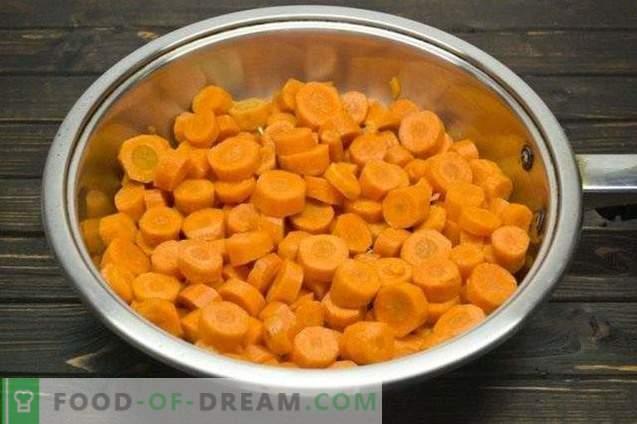 Мариновани моркови с лук и риган