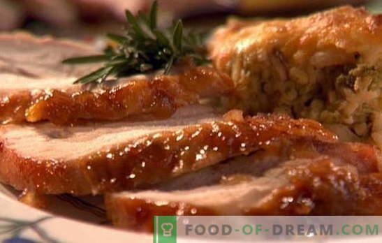 Турция в заквасена сметана - винаги сочна и нежна! Рецепти за пуйка в заквасена сметана: задушени, печени, със зеленчуци и гъби