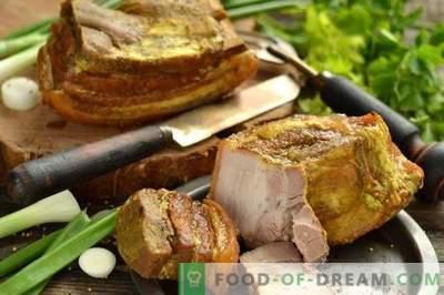 Schneller und leckerer hausgemachter Schweinefleischschinken