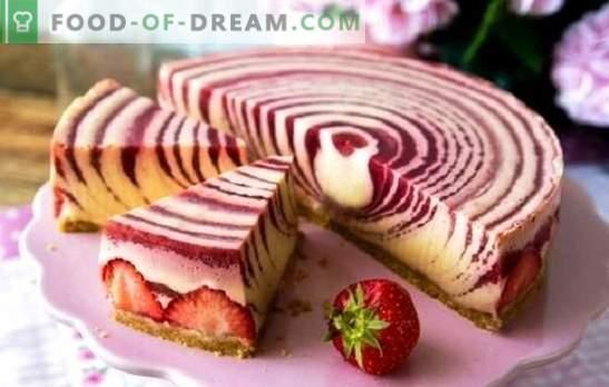 Tortul Zebra (rețetă pas cu pas) este un desert original fără prea mult efort. Pas cu pas rețete tort