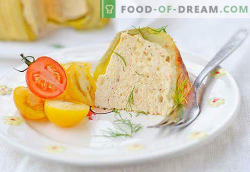 Рибно суфле - най-добрите рецепти. Как бързо и вкусно да се готви рибното суфле.