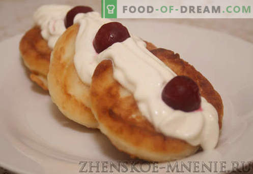 Варено-чийзкейк - рецепта със снимки и описание стъпка по стъпка