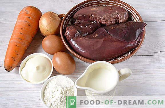 Печива на черния дроб: страхотна закуска, удобна за пикник! Класически чернодробни сладкиши: стъпка по стъпка фото-рецепта