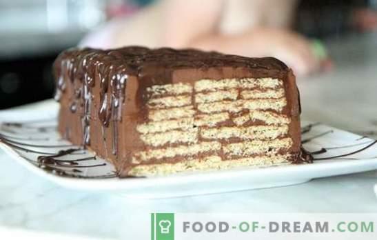 Торта без печене на бисквити и кондензирано мляко - за минути! Как да си направим торта от бисквитки и кондензирано мляко без печене