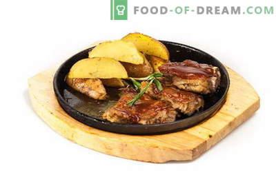 Свински ребра с картофи във фурната - меки, сочни и вкусни! Свински ребра с картофи във фурната: рецепти