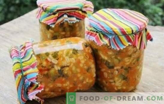 Краставици с перлена ечемик за зимата: готова гарнитура и удобна храна за туршия. 8 най-добри рецепти за краставици с ечемик за зимата