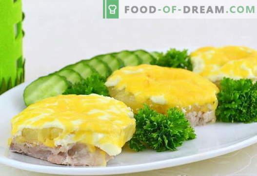 Ananasų mėsa - geriausi receptai. Kaip tinkamai ir skaniai virti mėsą su ananasais.