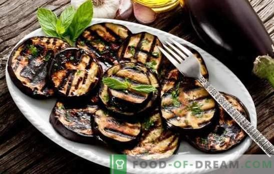 Kaip virti baklažanų skaniai ir greitai. Baklažanų patiekalai keptuvėje su sūriu, žolelėmis ir daržovėmis