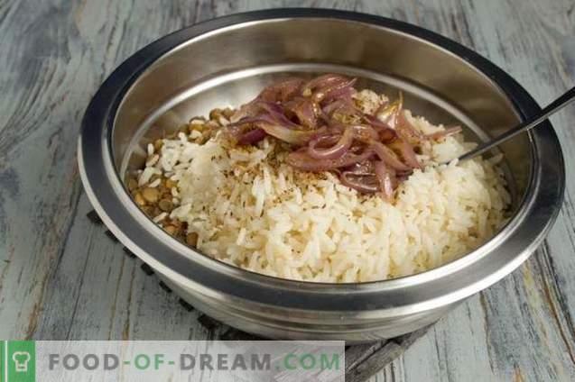 Муджадара - ориз с леща