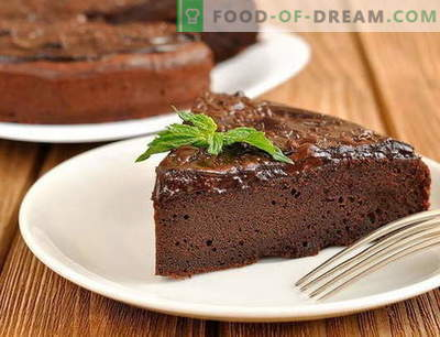 Шоколадова торта - най-добрите рецепти. Как правилно и вкусно да приготвим шоколадова торта.