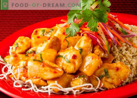 Корейски пиле - най-добрите рецепти. Как правилно и вкусно да приготвя корейско пиле.