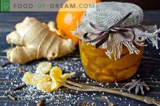 Захаросан джинджифил - захаросан джинджифил с портокал