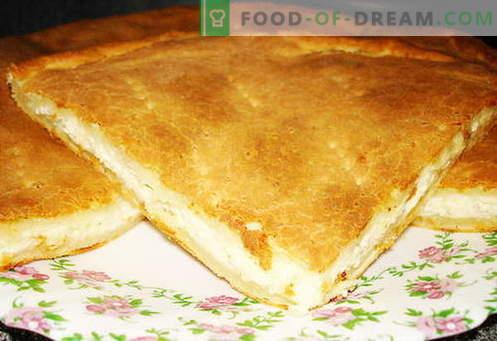 Khachapuri - die besten Rezepte. Wie man richtig und lecker Khachapuri kocht.