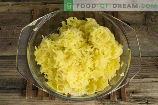 Английски пай с картофи и месо
